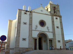 Iglesia de São Pedro de Peniche, Portugal