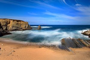 Beach in Peniche, Portugal