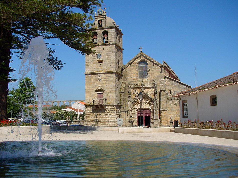 Iglesia Matriz de Vila do Conde y Museo de Arte Sacro