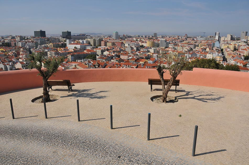 penha de frança lisboa mapa Miradouro da Penha de França, Lisboa penha de frança lisboa mapa