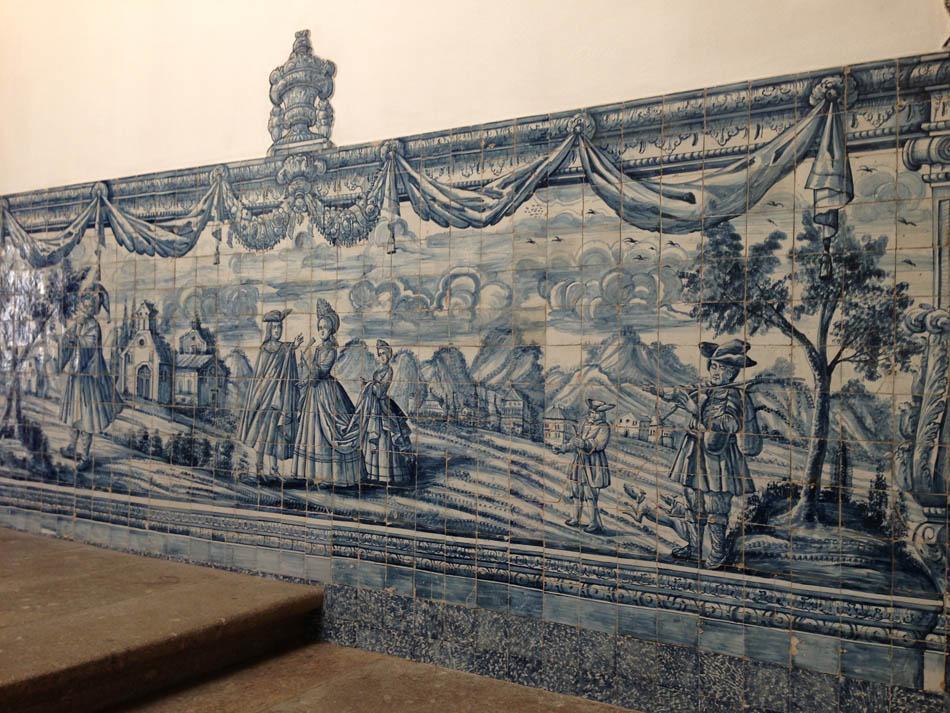 Resultado de imagen de azulejos casa Biscainhos Braga