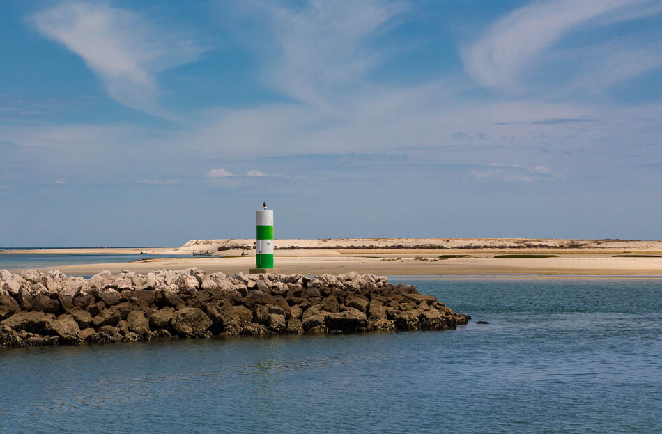 Praia da Fuseta Ria (Praia dos Tesos), Olhão