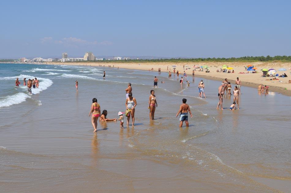 Vila Real de Santo Antonio Beach Praia de Santo António Beach