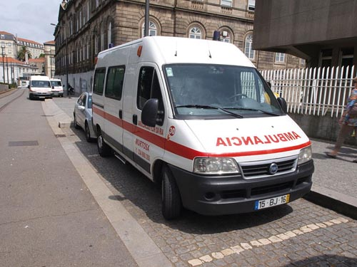 ambulance Portugal