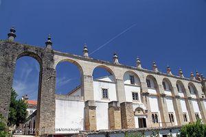 Aqueduto dos Pegões, Tomar, Portugal