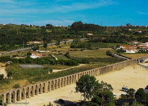 Aqueduct of Óbidos, Portugal