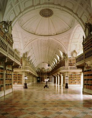 Library Palácio Nacional de Mafra