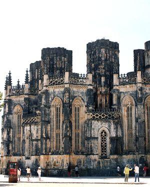 Capillas Imperfectas, Monasterio de Santa Maria da Vitoria, Batalha
