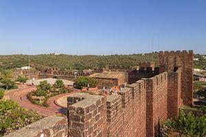 Castillo de Silves, Portugal
