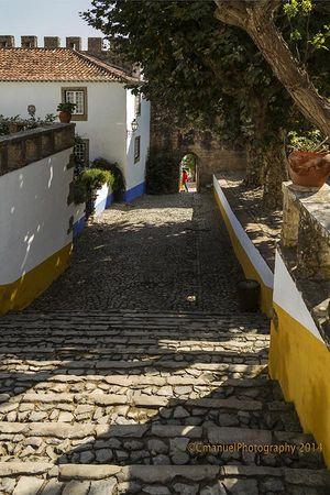 Centro Medieval, Óbidos, Portugal