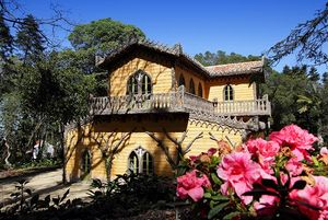 Chalet and Garden of the countess of Edla, Sintra, Portugal