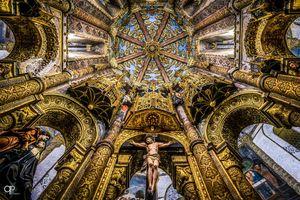 Charola dos Templários, Convento de Cristo, Tomar, Portugal