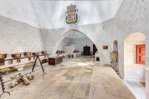 Cozina no Palácio Nacional de Sintra