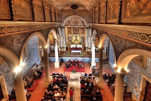 Dentro da Igreja de Santa Maria, Óbidos