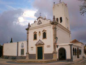 Igreja e miradouro de Santo António do Alto