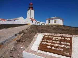 Farol Duque de Bragança, Ilha Berlenga, Peniche