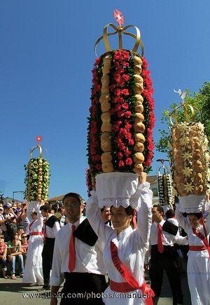Festa dos Tabuleiros, Tomar, Portugal