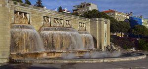 Fuente Luminosa, Alameda Dom Afonso Henriques, Lisbon, Portugal