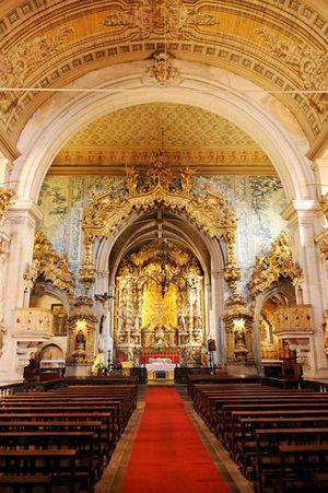 Igreja São Francisco Church, Guimarãe, Portugal