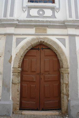 Iglesia de la Misericórdia de Serpa, el Alentejo, Portugal