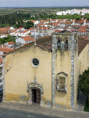 Iglesia de São João Baptista, Moura, Portugal