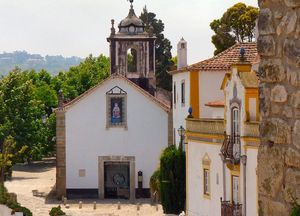 Igreja de São João Baptista e Museu Paroquial de Óbidos, Portugal