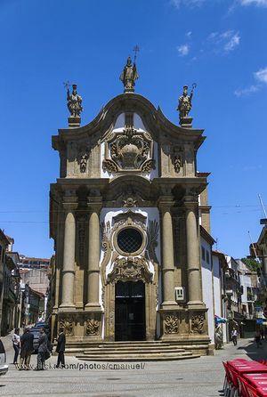 Igreja de São Paulo / Capela Nova, Vila Real