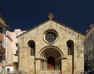 Iglesia de São Tiago en Coímbra