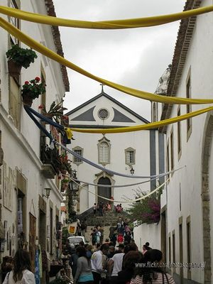 Igreja de São Tiago Church, Óbidos, Portugal
