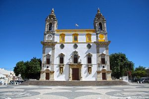 Igreja de Nossa Senhora do Carmo , Faro, Portugal