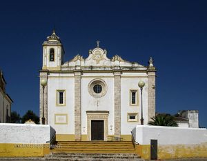 Igreja Matriz do Salvador Church, Veiros, Portugal