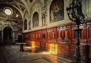 Interior Cathedral Lisbon (Séde Lisboa), Portugal