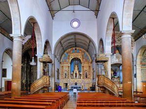 Interior Igreja de São Pedro, Faro, Algarve