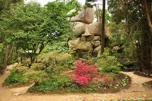 Jardim da Condesa D'Edla, Sintra, Portugal
