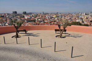 Penha de França Viewpoint, Lisbon, Portugal