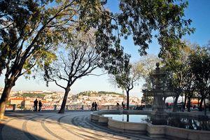 São Pedro de Alcântara Viewpoint, Lisbon, Portugal