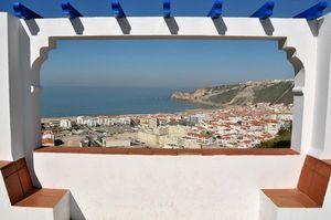 Mirador de Pederneira, Nazaré, Portugal