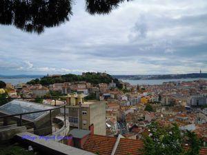 Miradouro da Senhora do Monte, Lisboa, Portugal
