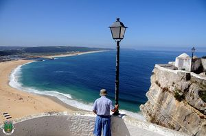 Mirador do Suberco, Nazaré, Portugal