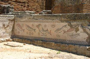Mosaicos, Milreu, Algarve