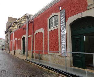 The Roman Theatre Museum, Lisbon, Portugal