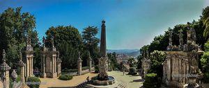 Obelisco, Santuario de Nossa Senhora dos Remédios, Lamego