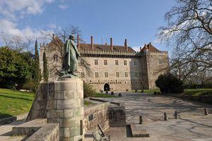 Palacio de los Duques de Braganza,, Guimarães, Portugal