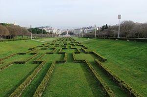 Parque Eduardo VII, Lisboa, Portugal