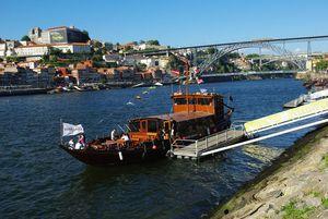 PDouro boat trips in Porto