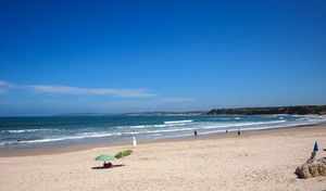 Playa Baleal, en Peniche, Portugal