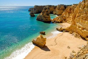 Playa en Algarve, Portugal