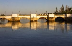 Romanesque bridge, Tavira