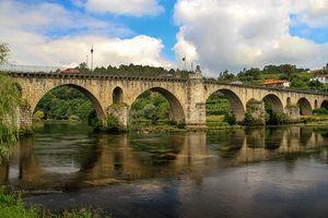 Medieval bridge of Ponte da Barca
