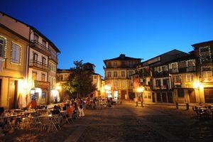 São Tiago Square, Guimarães, Portugal
